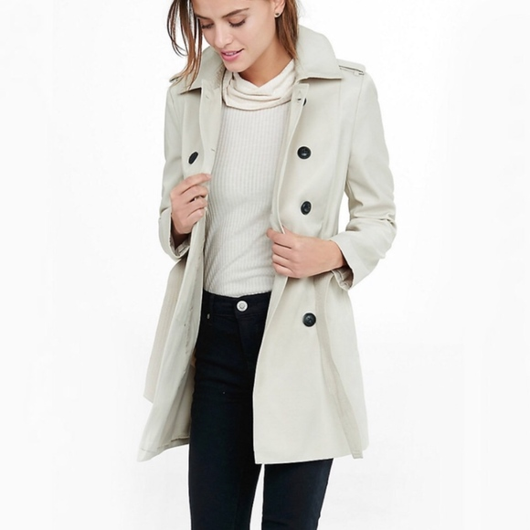 Express Jackets & Blazers - EXPRESS Classic Trench Coat